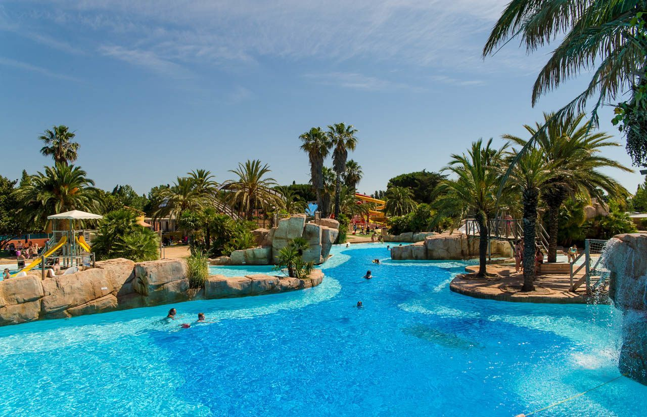 Un parc aquatique de 10 000 m camping 5 la sir ne for France piscine
