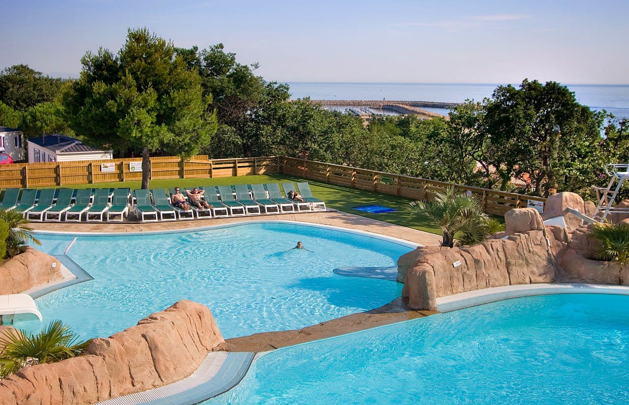 Campsite By The Sea Near Perpignan   Water Park